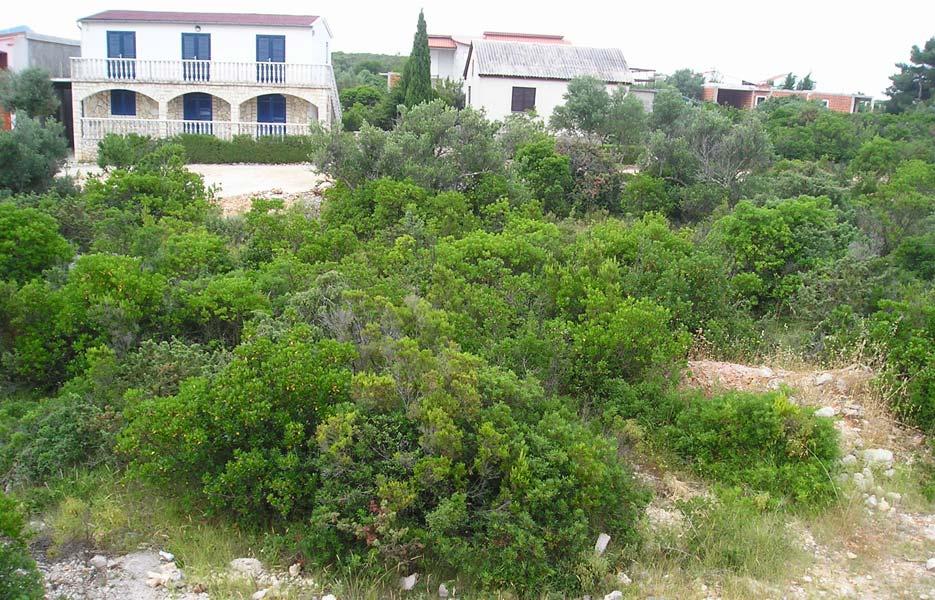 Građevinsko zemljište Ždrelac, Pašman, 1.574 m2