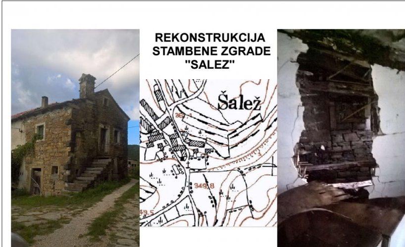 Kamena kuća Salež Buzet, 140 m2