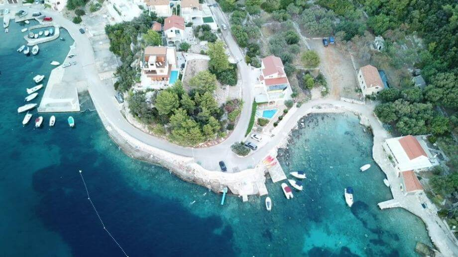 Građevinsko zemljište Gršćica, Korčula, 740 m2