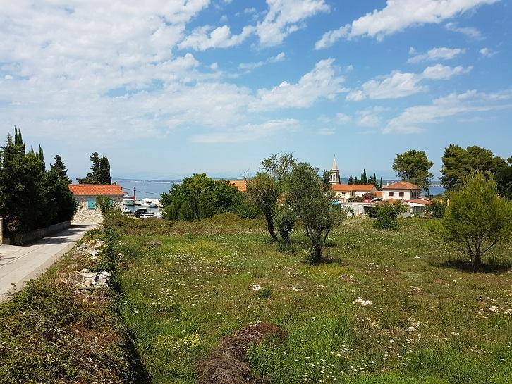 Građevinsko zemljište Ždrelac Pašman, 960m2