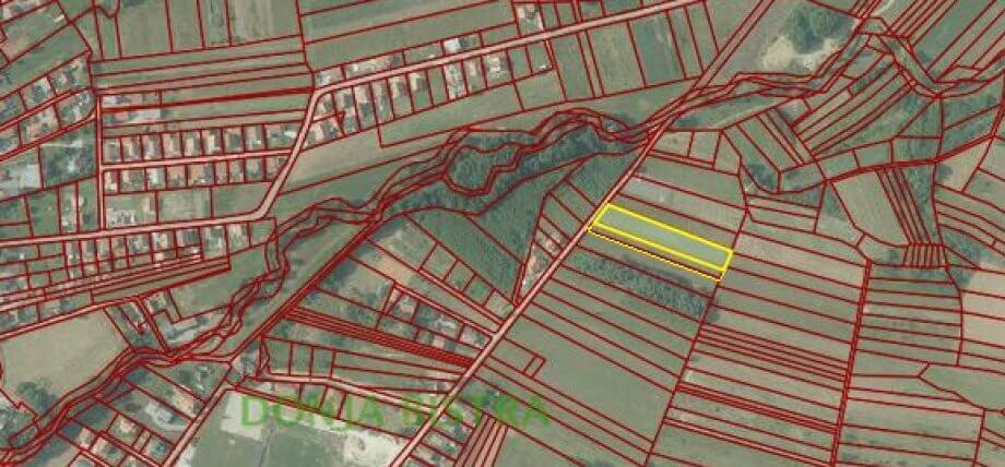 Građevinsko zemljište Donja Bistra, 4.438m2