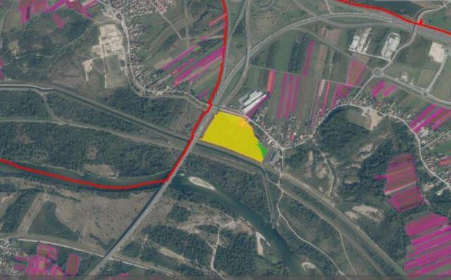 Građevinsko zemljište, Hrušćica, 82.580 m2