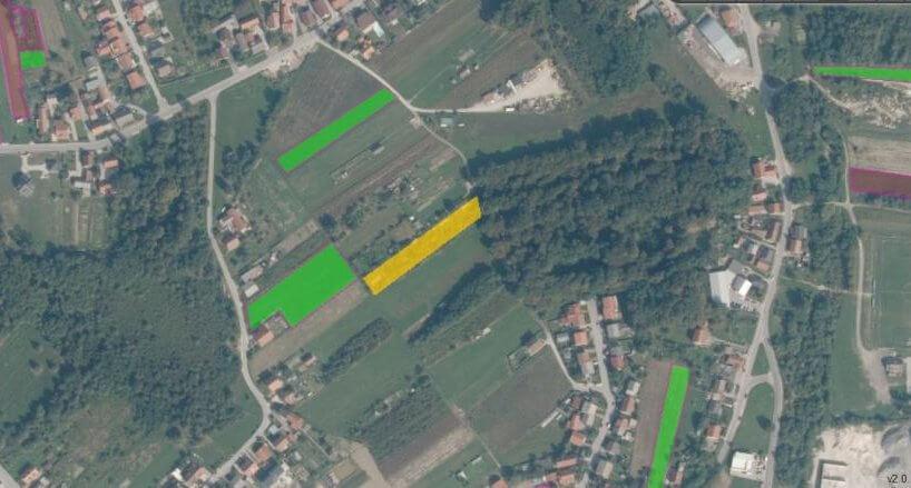 Građevinsko zemljište, Rakitje, 2.734 m2, stambeno-poslovna namjena