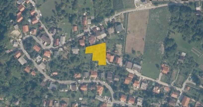Građevinsko zemljište Zagreb, Podsused, 1.560 m2